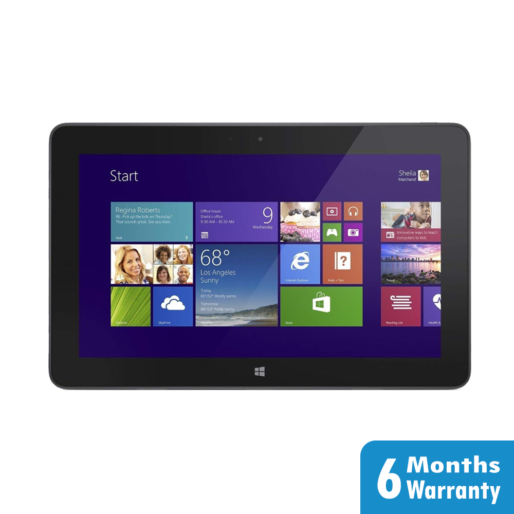 Picture of Dell Venue Pro T07G Portable Computer Tablet Intel i5-4210Y @1.5GHz 4G 128G SSD Windows 10 Warranty