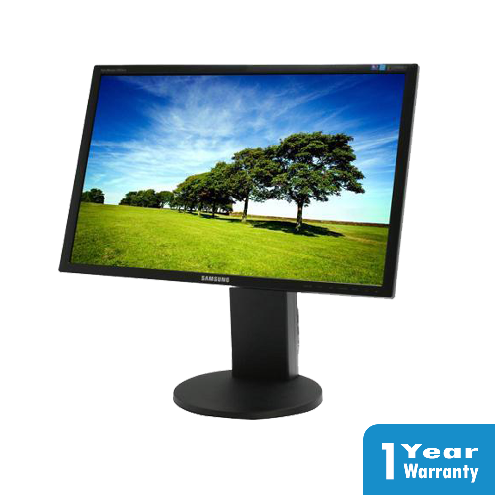 Picture of Samsung SyncMaster 2443BW 24 LCD LED Monitor Resolution 1920 x 1200 1Year Warranty